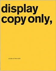 Display Copy Only