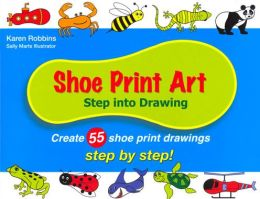 Shoe Print Art: Step into Drawing Step by Step!