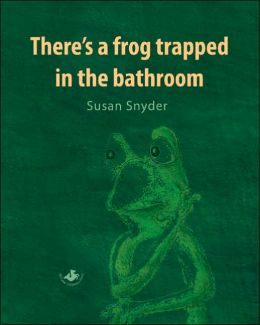 There's a Frog Trapped in the Bathroom
