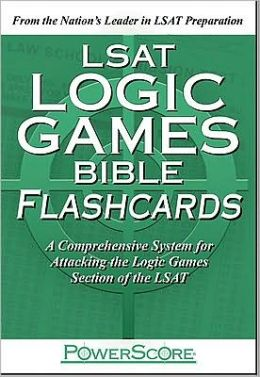 The PowerScore LSAT Logic Games Bible Flashcards