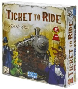 Ticket to Ride Adventure Board Game