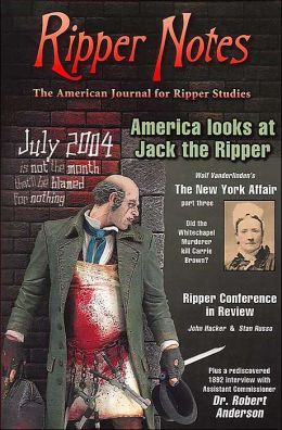 Ripper Notes (American journal for Ripper Studies Series): America Looks At Jack The Ripper
