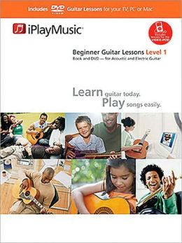 Beginner Guitar Lessons - Level 1: iPlayMusic Book/DVD Pack