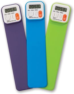 Mark-My-Time Assorted Neon Color Digital Bookmark
