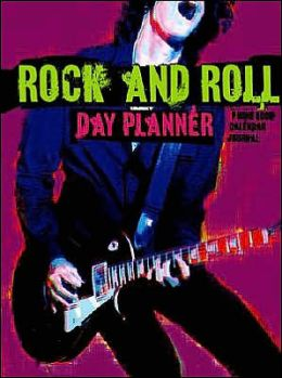 Rock and Roll Day Planner