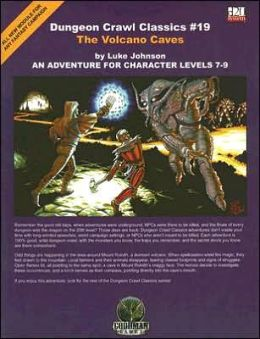 Volcano Caves: An Adventure for Character Levels 7-9