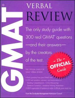 Official Guide for GMAT Verbal Review
