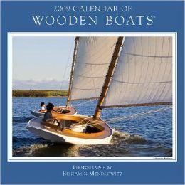 2009 Wooden Boats Wall Calendar