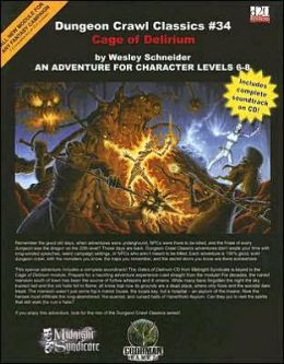 Dungeon Crawl Classics #34: Cage of Delirium