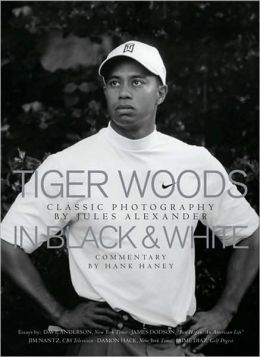 Tiger Woods in Black and White
