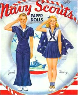 Navy Scouts Paper Dolls