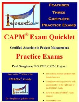 CAPM Exam Quicklet : Certified Associate in Project Management Practice Exams