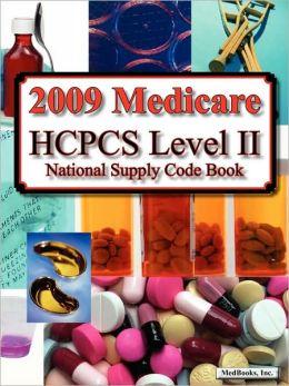 2009 Hcpcs Level Ii National Supply Code Book