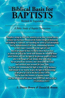 Biblical Basis For Baptists
