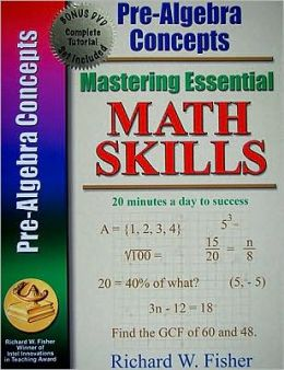 Pre-Algebra Concepts [With DVD]