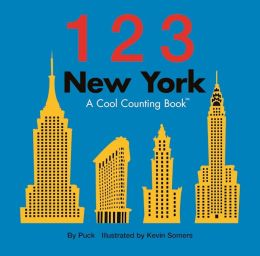 123 New York: A Cool Counting Book