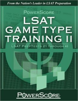 Powerscore LSAT Game Type Training II: LSAT Preptests 21 Through 40