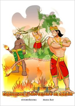 Hanuman's Adventure in Lanka
