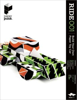 RIDE001: Build Your Own Paper Toy Car