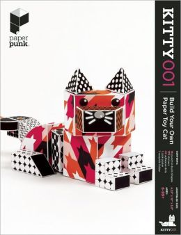 Kitty001: Build Your Own Paper Toy Cat