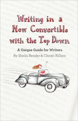 Writing In A New Convertible With The Top Down