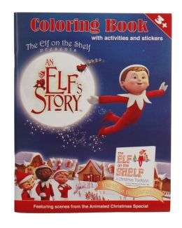 An Elf's Story Coloring Book