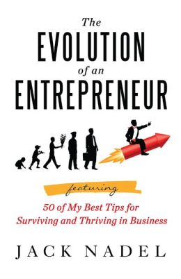 The evolution of an entrepreneur featuring 50 of my best tips for