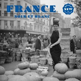 2014 France Noir Et Blanc Wall Calendar