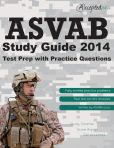 Book Cover Image. Title: ASVAB Study Guide 2014:  ASVAB Test Prep with Practice Questions, Author: Accepted, Inc.