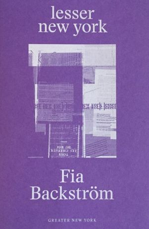 Fia Backstrom: Lesser New York
