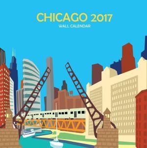 Chicago Wall Calendar: 2017