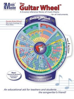 The Guitar & Music Theory Wheel: A 2-Ounce Reference Library of Music Theory for All Instruments!