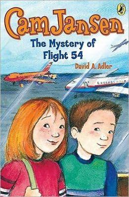 The Mystery of Flight 54 (Cam Jansen Series #12)