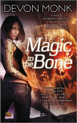 Magic to the Bone (Allie Beckstrom Series #1)