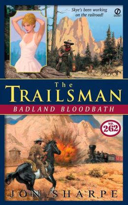Badland Bloodbath (Trailsman Series #262)