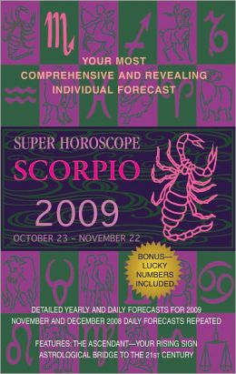 Scorpio (Super Horoscopes 2012)
