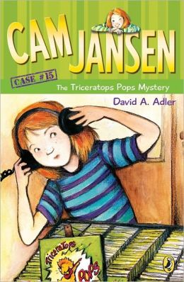 The Triceratops Pops Mystery (Cam Jansen Series #15)