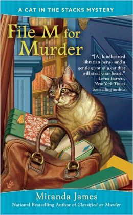 File M for Murder (Cat in the Stacks Series #3)