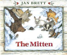 The Mitten Board Book Edition
