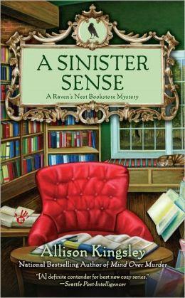 A Sinister Sense (Raven's Nest Bookstore Series #2)