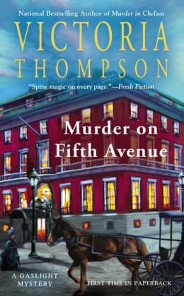 Murder on Fifth Avenue (Gaslight Series #14)