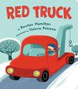 Book Cover Image. Title: Red Truck, Author: Kersten Hamilton