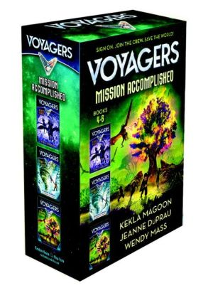 Voyagers The Final Countdown boxed set (books 4-6)