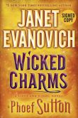 Book Cover Image. Title: Wicked Charms (Signed Book) (Lizzy and Diesel Series #3), Author: Janet Evanovich