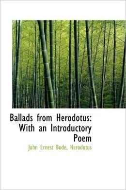 Ballads From Herodotus