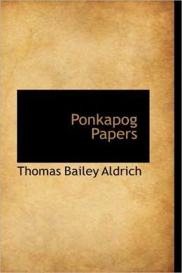 Ponkapog Papers