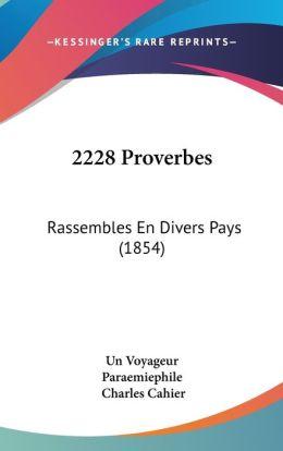 2228 Proverbes