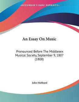 An Essay On Music