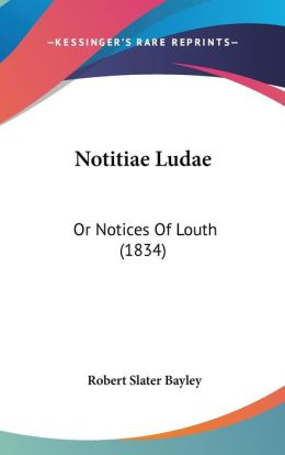 Notitiae Ludae