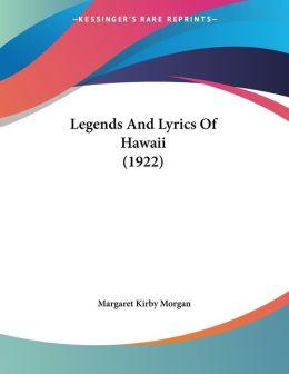 Legends and Lyrics of Hawaii (1922)